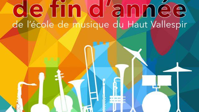 Concerts de fin d'année 2018 – Saint-Laurent-de-Cerdans