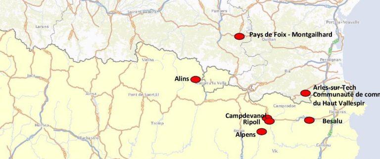 PYRFER cartographie