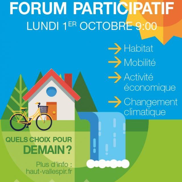 Forum participatif PCAET